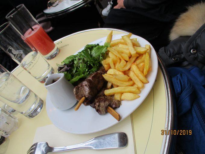 Les Deux Magotsのステーキ