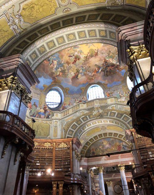 おすすめの「オーストリア国立図書館(プルンクザール)」