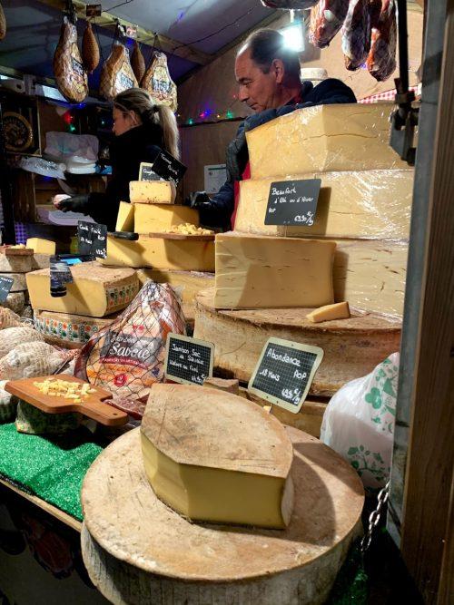チーズの量り売りも美味しかったです!
