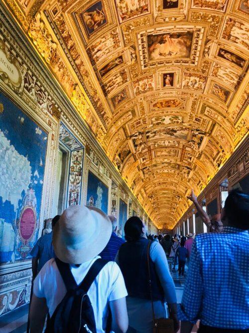 天井画が素敵でした