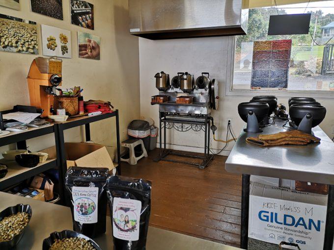 焙煎体験ができる「UCCコナコーヒー農園」