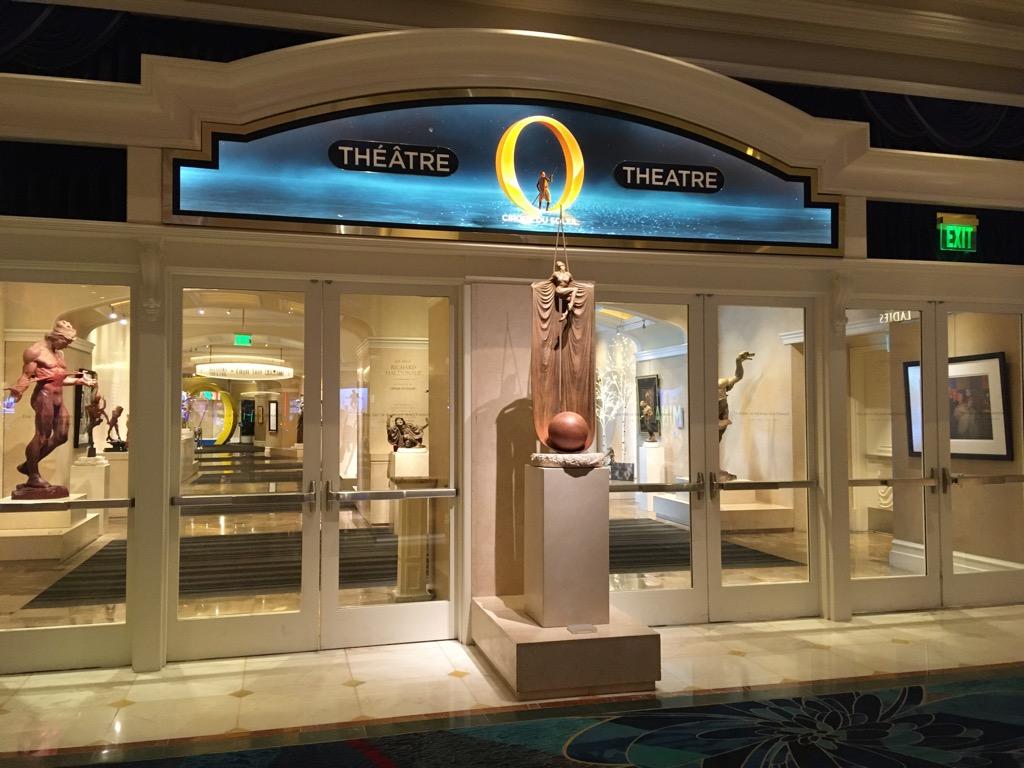 ショー「O」の入り口