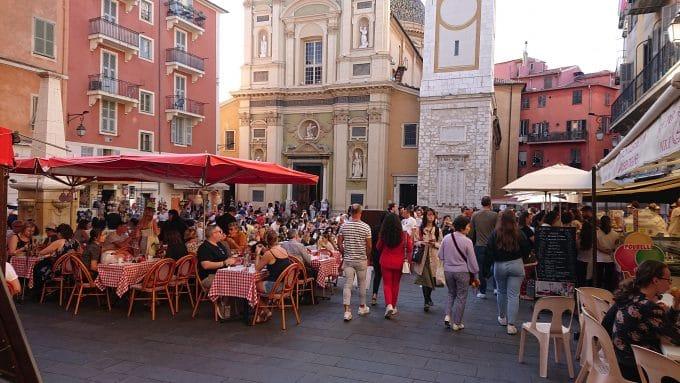 ニース旧市街市場