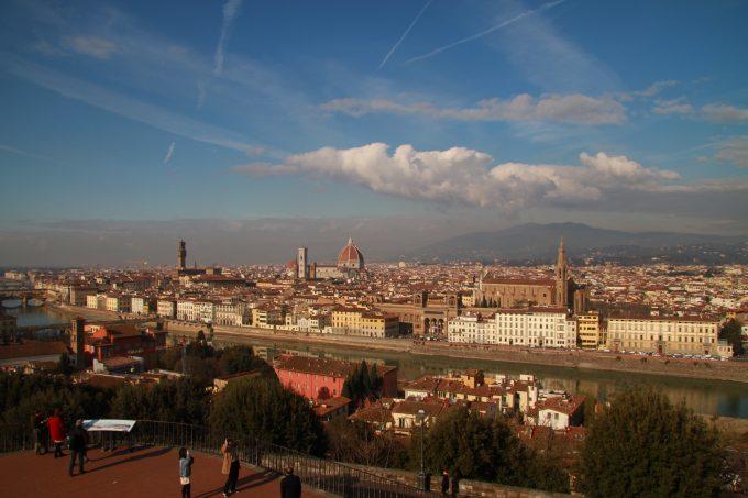 フィレンツェ市内一望