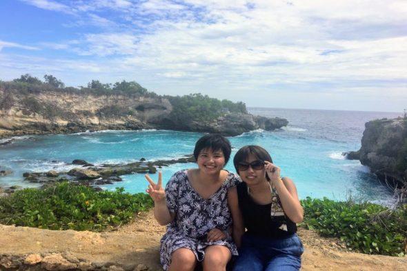 レンボンガン島で1番綺麗だったビーチ!
