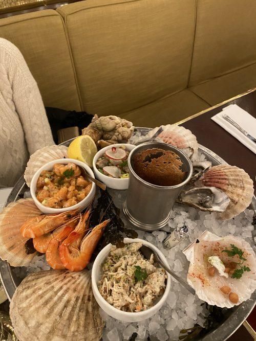 グラン カフェ カプシーヌ 海老や貝