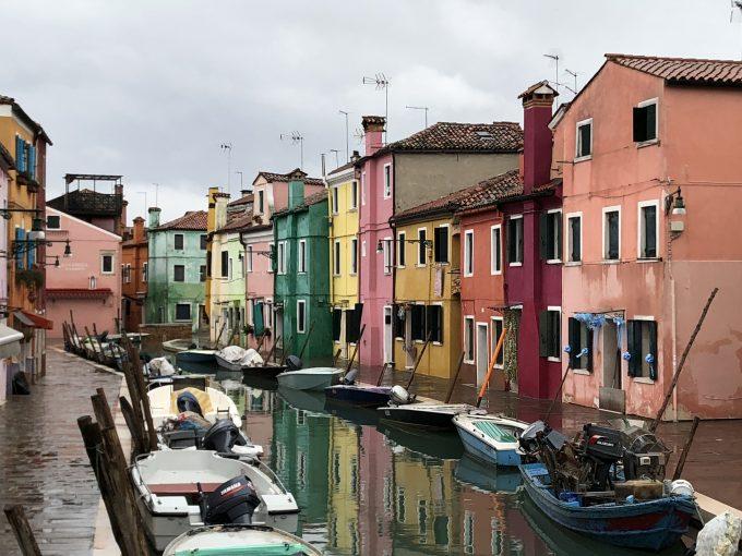 カラフルで可愛い街ムラーノ島