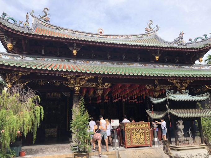 シンガポール最古の中国寺院「シアン・ホッケン寺院」