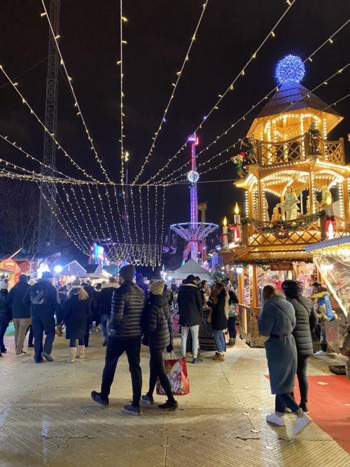 チュイルリー公園 クリスマスマーケット