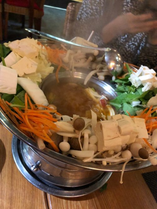 鍋をいただきました。とても美味しかったです!