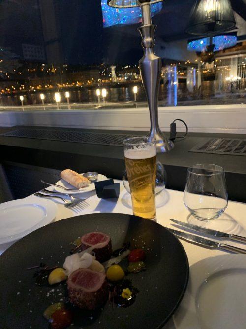 ドナウ川海上レストラン「Spoon」