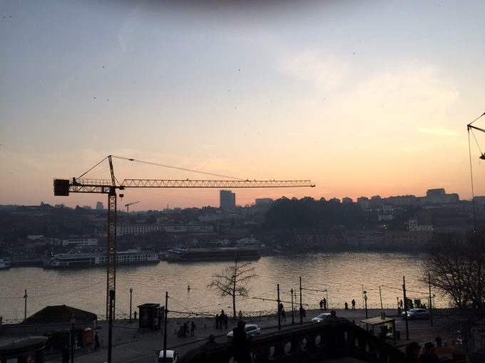 ポルトの夕日