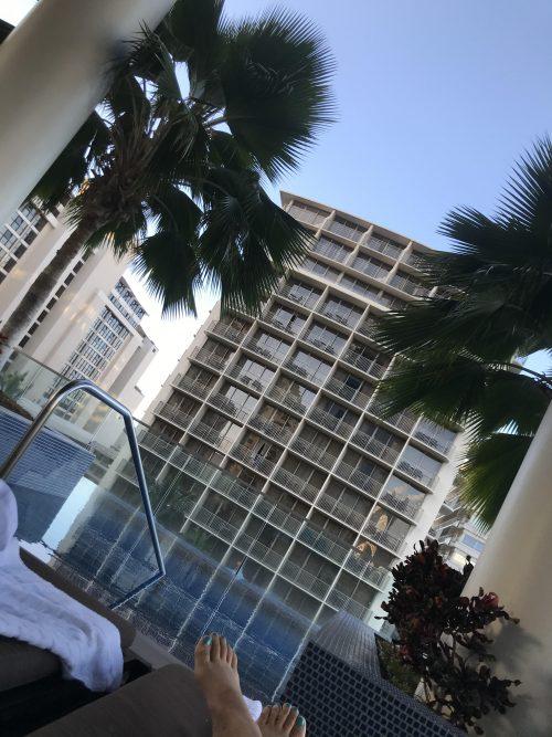 トランプインターナショナルホテルワイキキのプール