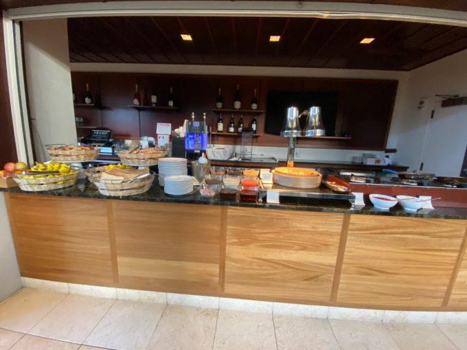 トランプインターナショナルホテルワイキキ、朝食ブッフェ会場の一部