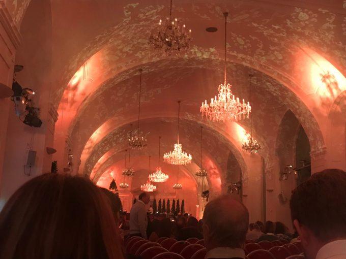 シェーンブルン宮殿のクラシックコンサート