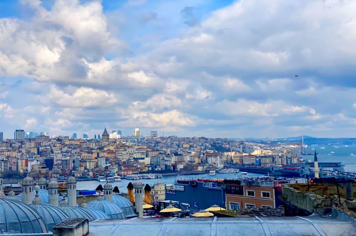 イスタンブールの街並み