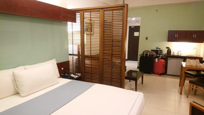 マニラのホテル「マイクロテル バイ ウィンダム モール オブ アジア」