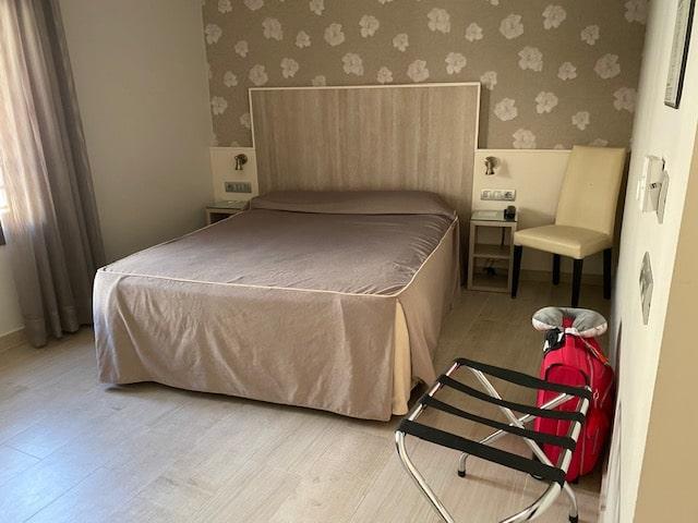 ホテル「サンタマルタ」十分な広さのお部屋