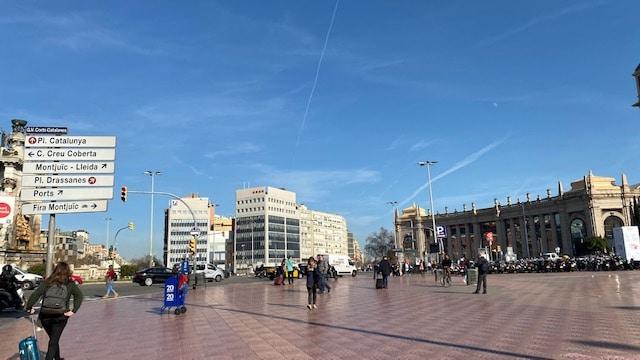 エスパーニャ広場