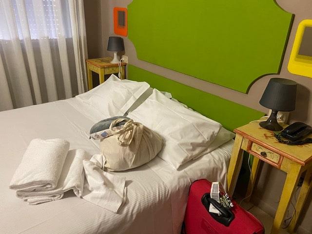ベネチアのホテル「ホテル アリストン」可愛いお部屋