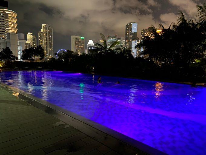 ホテル ボスのプール