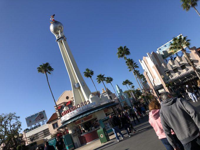 ディズニー・ハリウッド・スタジオ!とってもいいお天気!