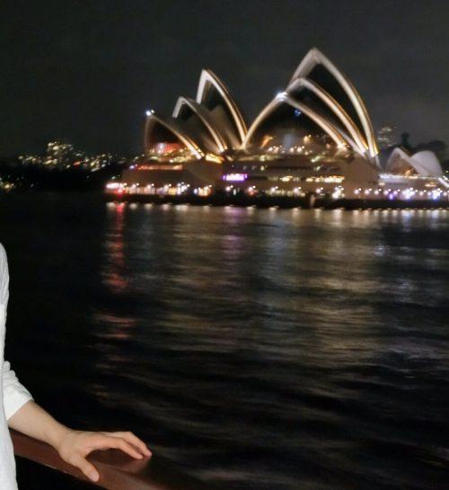 オペラハウス夜景
