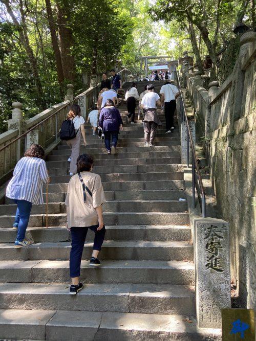 1368段の石段