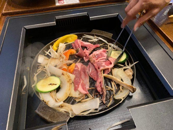 本場のジンギスカンを堪能♪美味しい!!