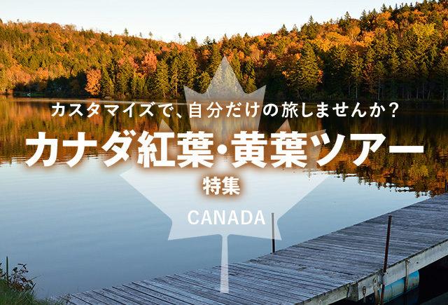カナダ,カナダ旅行,カナダツアー,紅葉,黄葉,トラベルスタンダードジャパン
