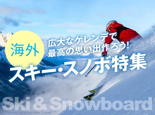 スキー特集