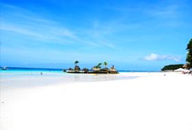 ホワイトサンドビーチ/ボラカイ島