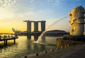 マーライオン/シンガポール