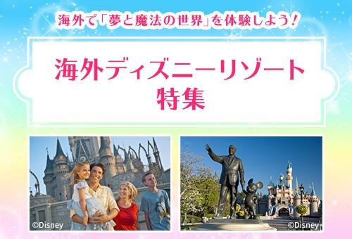 海外ディズニーリゾートへの旅