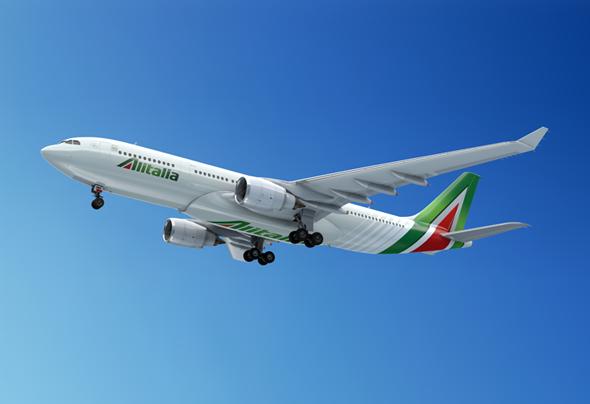 アリタリア航空イメージ