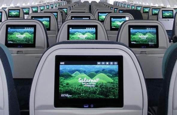 フィリピン航空モニタ