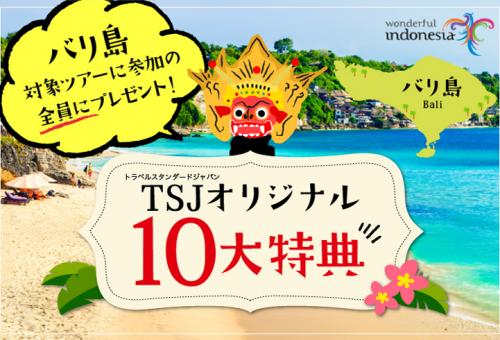 バリ島当社オリジナル10大特典