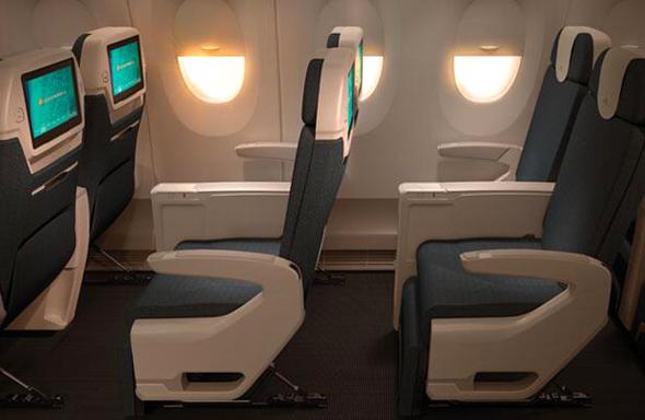 A350型機のプレミアムエコノミー