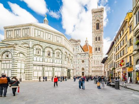 フィレンツェ:サンタ・マリア・デル・フィオーレ大聖堂