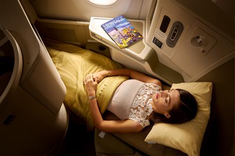 座席_A350_フルフラット