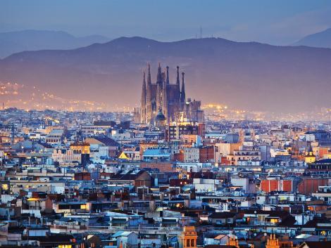 バルセロナ:街並み