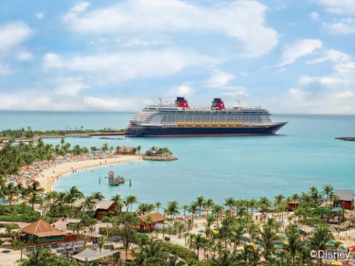 ディズニー・ドリーム号 Ships' Registry The Bahamas