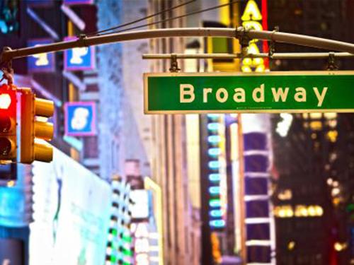 ニューヨーク ブロードウェイ