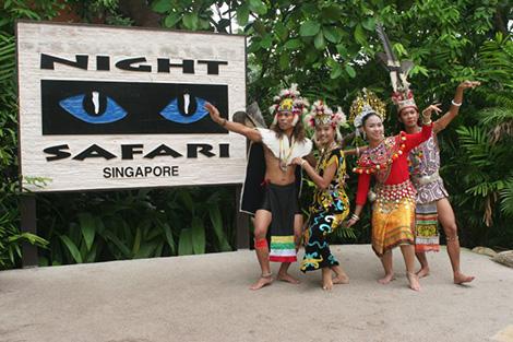 シンガポ―ル:ナイトサファリ