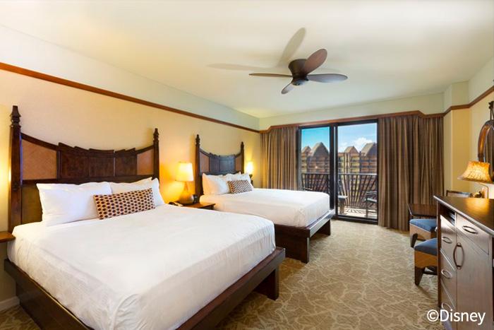 ホテルタイプ 2ベッドの客室(イメージ)