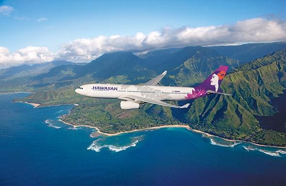 ハワイで唯一かつ最大の大手航空会社