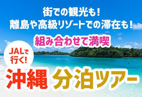 JALで行く!沖縄分泊ツアー