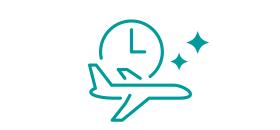 時間帯の良いフライト多数